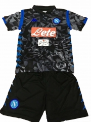 Youth Napoli Away Uniform 2018-2019 ,Jersey+Shorts [China Quality]