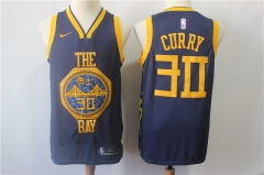 Men NBA Golden State Warriors #30 Curry Swingman Jersey