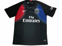 2018 Paris Black Training Short Shirt Jersey