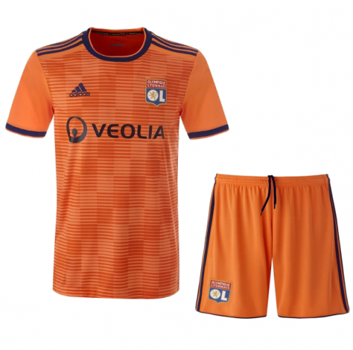 Youth Lyon Third Away Uniform 2018-2019 ,Jersey+Shorts [China Quality]