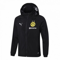 Borussia Dortmund Black Windbreaker 2018-2019