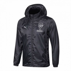 Arsenal Grey Windbreaker 2018-2019