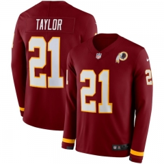Men NFL Washington Redskins TAYLOR Long Sleeve Jersey