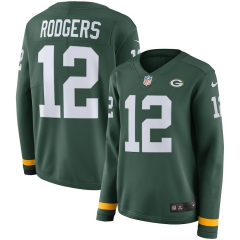 Women NFL Green Bay Packers RODGERS Long Sleeve Jersey