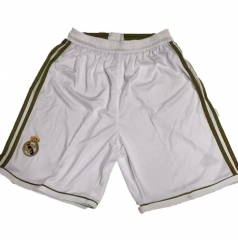 2012 Real Madrid Home Retro Soccer Shorts