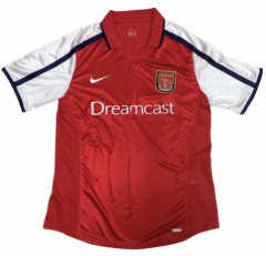 2000 Arsenal Home Retro Soccer Jersey Shirt
