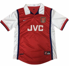 1998-1999 Arsenal Home Retro Soccer Jersey Shirt