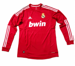 2012 Real Madrid Third Away Long Sleeve Retro Soccer Jersey Shirt