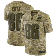 Men NFL Philadelphia Eagles ERTZ Camouflage Jersey