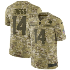 Men NFL Minnesota Vikings DIGGS Camouflage Jersey