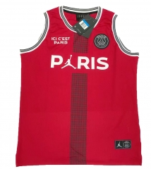 Jordan X Paris Saint-Germain Red Vest 2018-2019