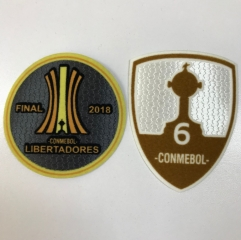 Boca Juniors Copa Libertadores 2018 Set De Parches 6 Copas