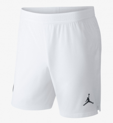 2018-2019 Men's Paris Jordan White Shorts [Player Version]