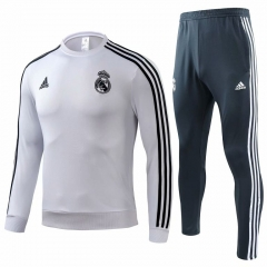Real Madrid White Training Suit 2018-2019