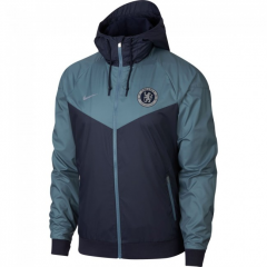 Chelsea Dark Grey Windbreaker 2018-2019