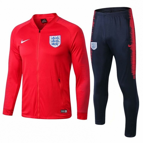 England Red Jacket Suit 2018-2019