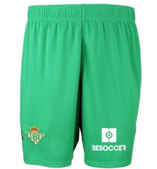 2018-2019 Men's Real Betis Home Shorts