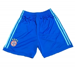 Bayern Munchen Blue Goalkeeper Short Pants 2018-2019