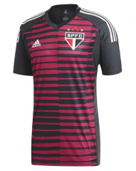 Sao Paulo Red Goalkeeper Soccer Jersey Shirt 2018-2019