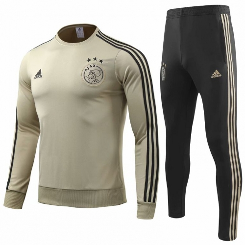 Ajax Khaki Training Suit 2018-2019