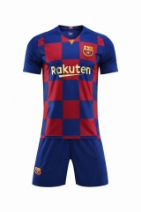 Barcelona 20 Years Mashup Uniform 2018-2019 ,Jersey+Shorts