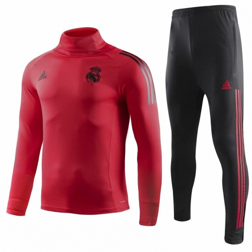 Real Madrid Red UCL Training Suit 2018-2019