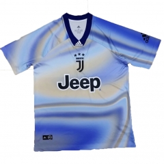 Juventus Blue EA Sports Special Jersey Shirt 2018-2019