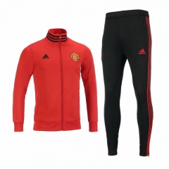 Manchester United Red Jacket Suit 2018-2019