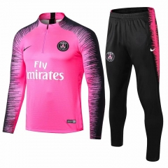 Paris Pink Training Suit 2018-2019