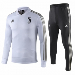 Juventus White UCL Training Suit 2018-2019