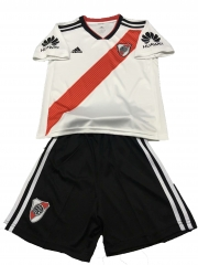 Youth River Plate Home Uniform 2018-2019 ,Jersey+Shorts[China Quality]
