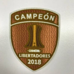 River Plate 2018 CAMPEON LIBERTADORES PATCH 2018 CHAMPIONS OF CONMEBOL Libertadores patch 2018 River Plate Copa Libertadores patch