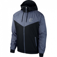 Inter Milan Dark Grey Windbreaker 2018-2019