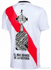 18-19 River Plate Home Memorial Edition Soccer Jersey