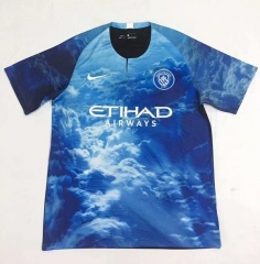 2018-2019 Manchester City Digital Fourth Soccer Jersey
