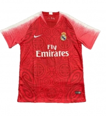 2018-2019 Real Madrid Red Limited Edition Soccer Jersey
