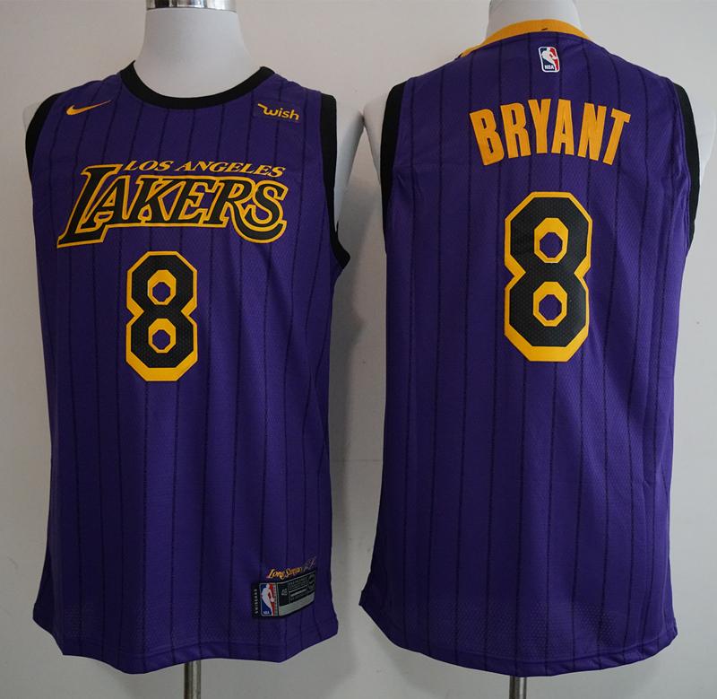 4b675a4015a Men NBA Los Angeles Lakers  24 Bryant Icon Edition Swingman Jersey-2019