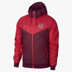 Barcelona Red Windbreaker 2018-2019