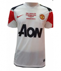 2010-2011 Manchester United Away Retro Soccer Jersey Shirt
