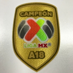 2018-2019 Campeon Liga MX C18 Mexico Soccer League Patch Badge Parche