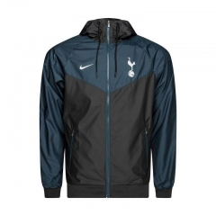 Tottenham Hotspur Black Green Windbreaker 2018-2019