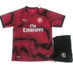 Arsenal Red Pre-match Uniform 2018-2019 ,Jersey+Shorts[China Quality]