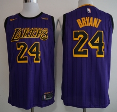 Men NBA Los Angeles Lakers #24 Bryant Icon Edition Swingman Jersey-2019
