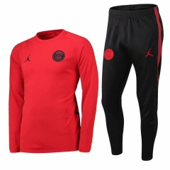 Paris Jordan Red Training Suit 2018-2019