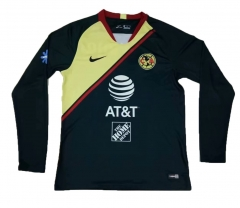 Club America Away Long Sleeve Soccer Jersey Shirt 2018-2019
