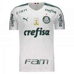 Palmeiras Away Libertadores Soccer Jersey 2019-2020 All Sponsor With Patch