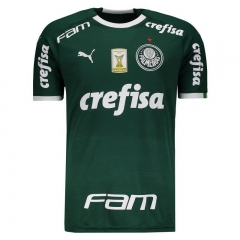 Palmeiras Home Libertadores Soccer Jersey 2019-2020 All Sponsor With Patch
