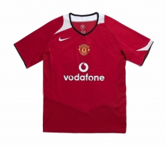 2006 Manchester United Home Retro Soccer Jersey Shirt