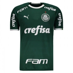 Palmeiras Home Libertadores Soccer Jersey 2019-2020 With All Sponsor