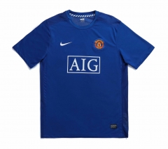 2002 Manchester United Away Retro Soccer Jersey Shirt